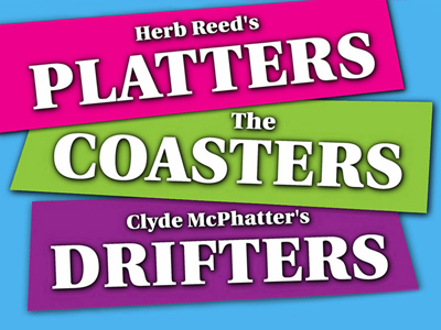 Herb Reeds Platters-Clyde McPhatters Drifters-The Coasters
