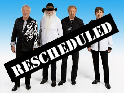 Oak Ridge Boys Rescheduled